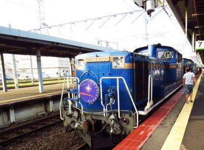函館駅に寝台特急カシオペア
