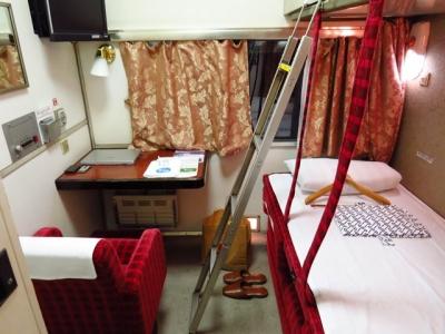北斗星A寝台ふたり用個室ツインデラックス