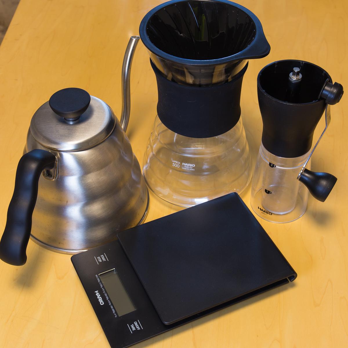 ドリップコーヒー器具(1)