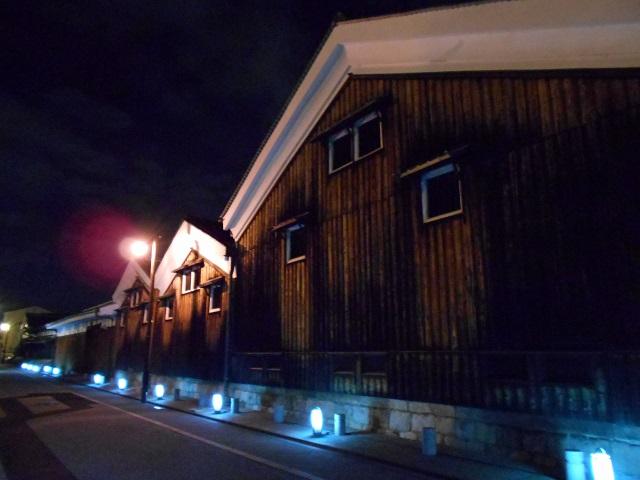 伏見酒造通り灯ろうライトアップ (3)