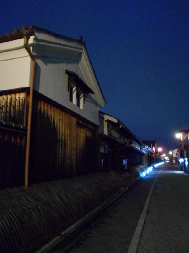 伏見酒造通り灯ろうライトアップ (4)