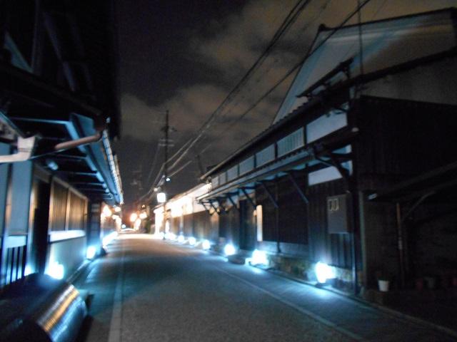 伏見酒造通り灯ろうライトアップ (6)