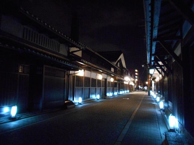 伏見酒造通り灯ろうライトアップ (7)