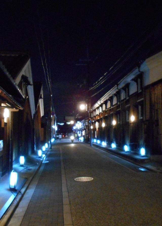 伏見酒造通り灯ろうライトアップ (8)