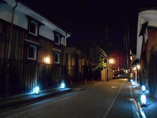 伏見酒造通り灯ろうライトアップ (9)