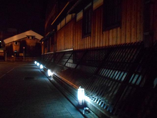 伏見酒造通り灯ろうライトアップ (11)