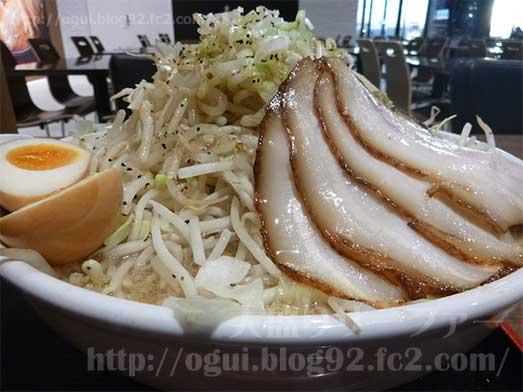 麺屋心イオン幕張の新メニューメガフジヤマ030