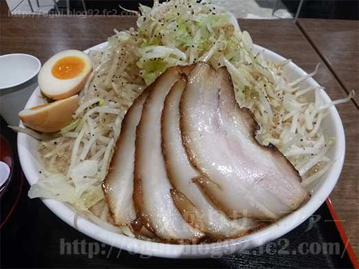麺屋心イオン幕張の新メニューメガフジヤマ039