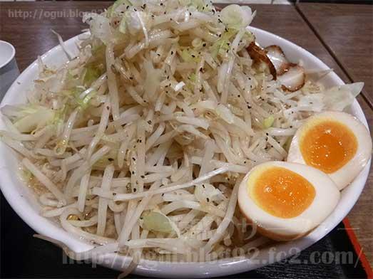 麺屋心イオン幕張の新メニューメガフジヤマ040