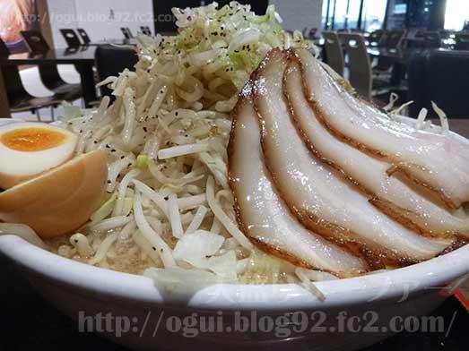 麺屋心イオン幕張の新メニューメガフジヤマ041