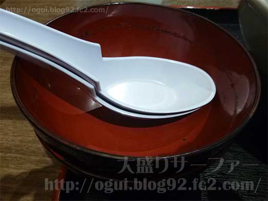 麺屋心イオン幕張の新メニューメガフジヤマ042