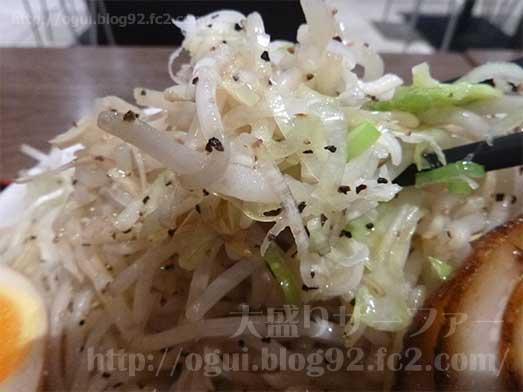 麺屋心イオン幕張の新メニューメガフジヤマ043