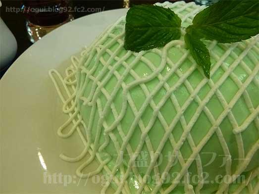 銀座ブリッヂのメロンパンケーキ001