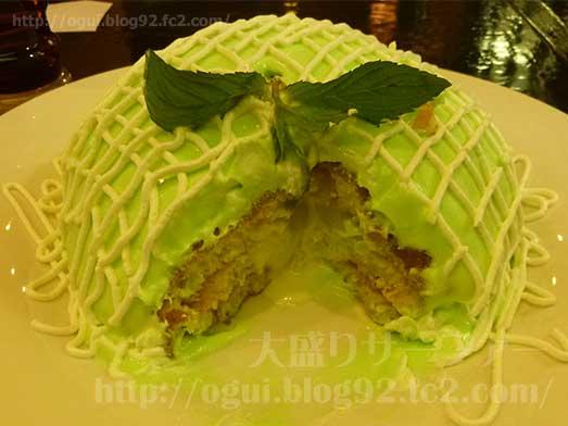 銀座ブリッヂのメロンパンケーキ017