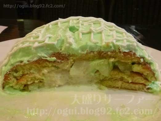 銀座ブリッヂのメロンパンケーキ018