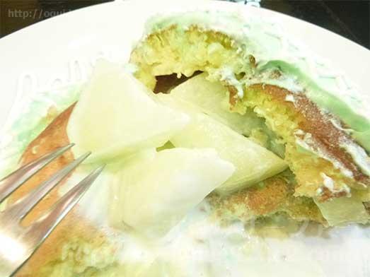 銀座ブリッヂのメロンパンケーキ019