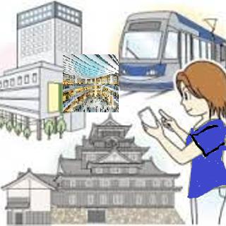 岡山市がスマホで回遊状況調査ss - イオンモール岡山