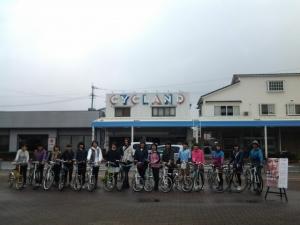 女子会サイクリング