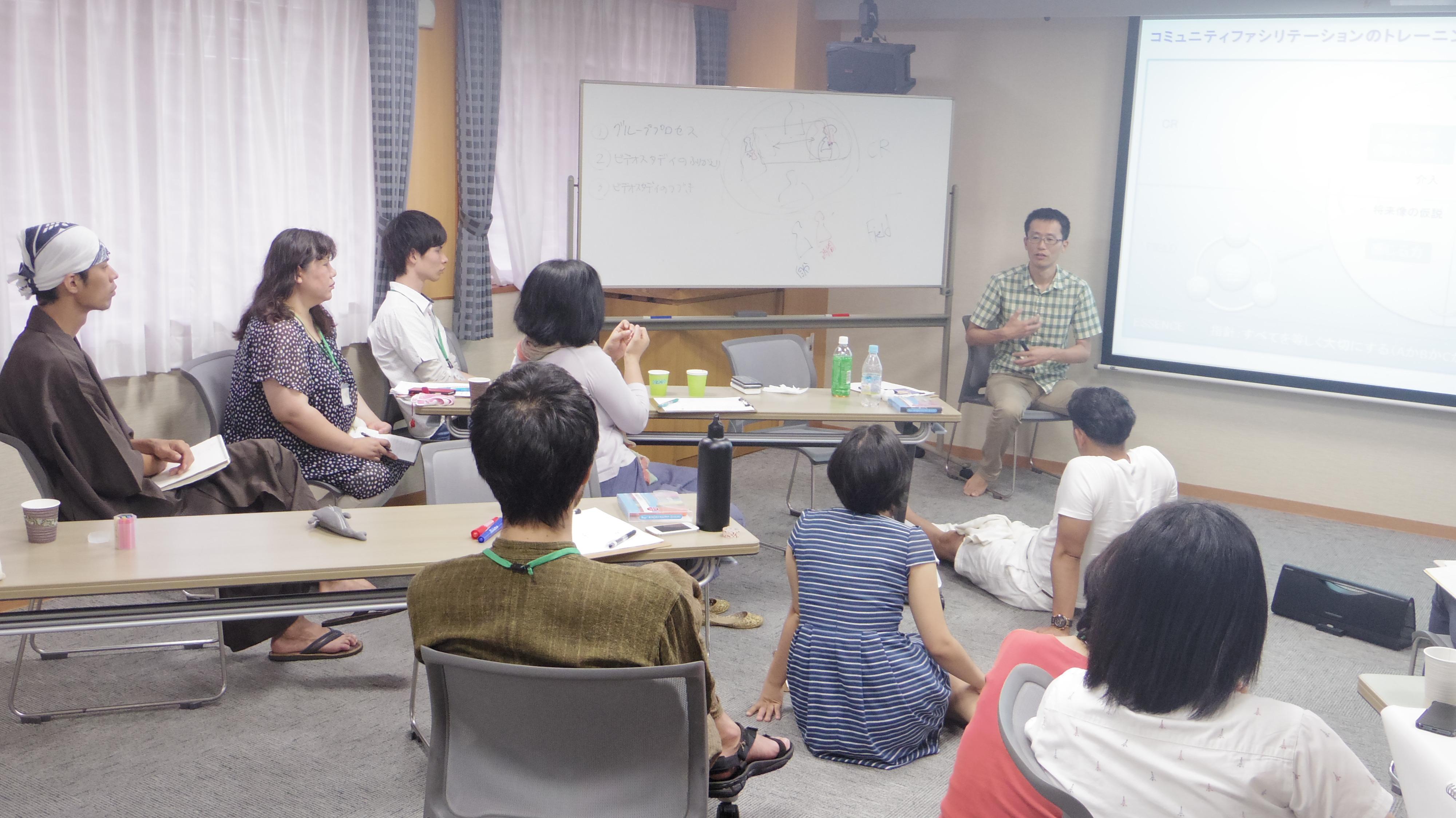 カレッジ15③ グループプロセス前
