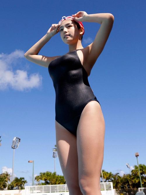 巨乳の競泳水着は鉄板でシコれるオカズですwwwwwwww