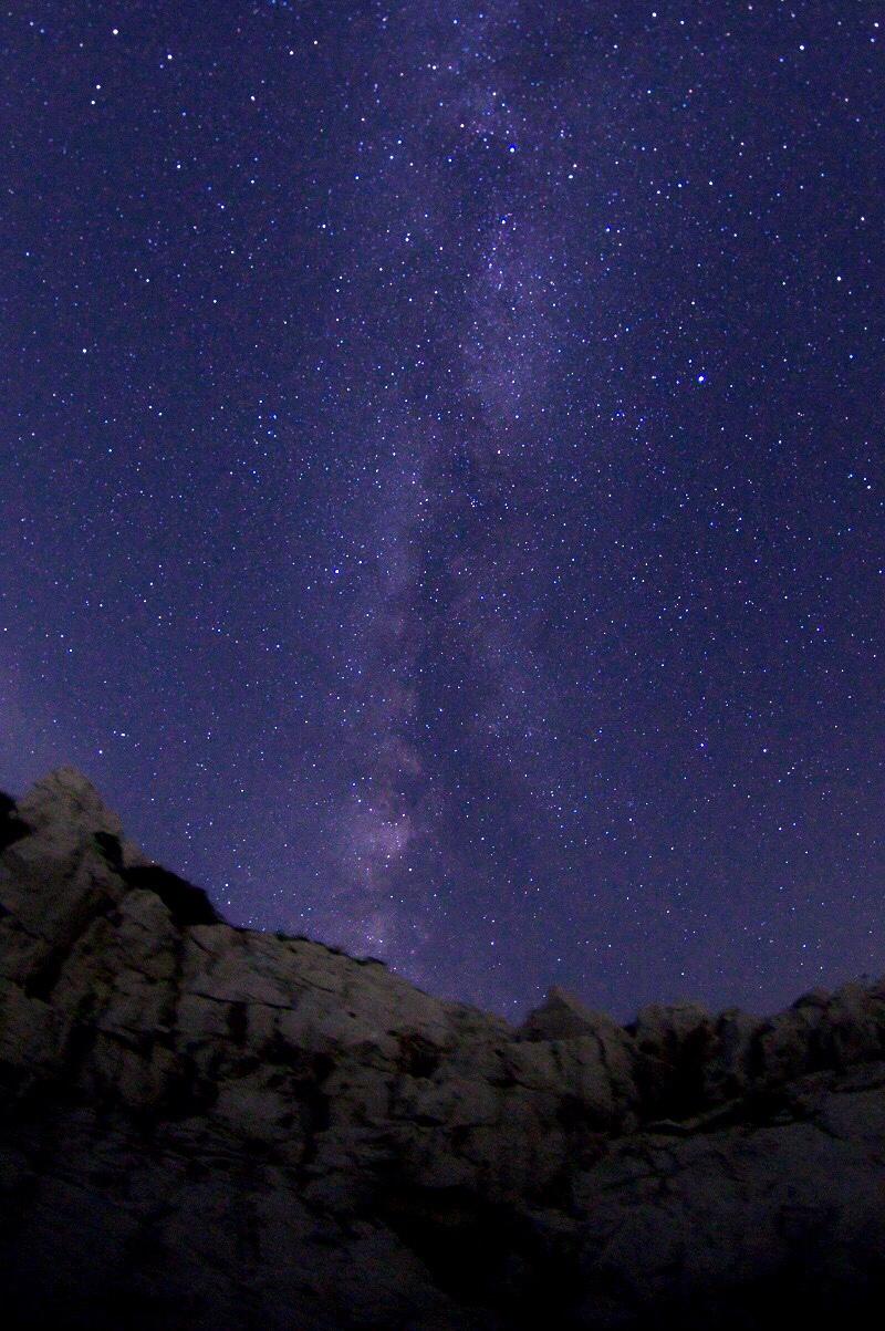 白崎海洋公園 星空 天の川
