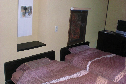 音羽山荘 ベッド
