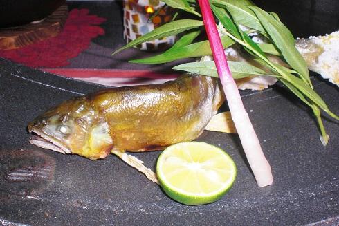 音羽山荘 夕食4