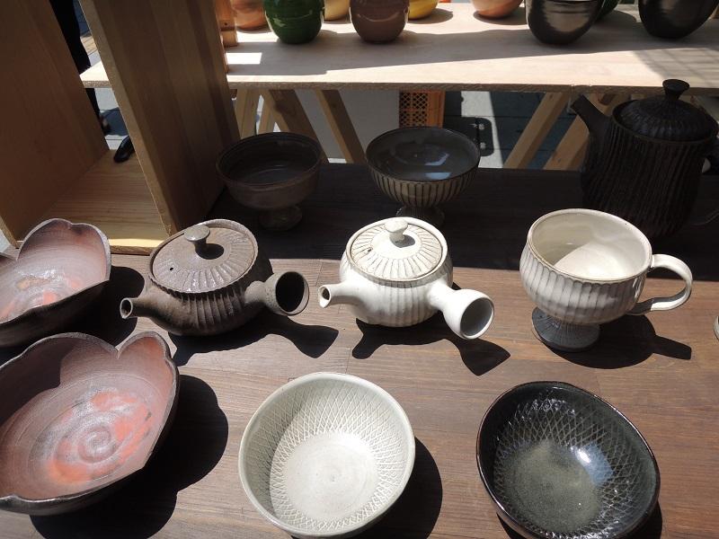去年の五条坂陶器祭り