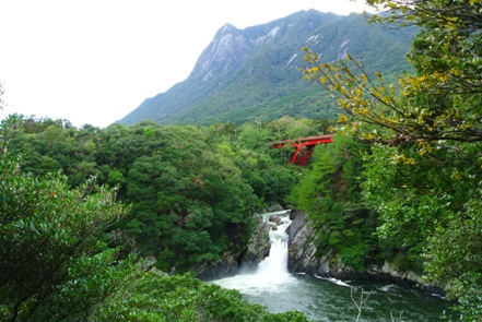 屋久島2日目昼3トローキの滝