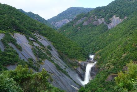 屋久島2日目昼8千尋の滝