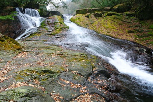 菊池渓谷再訪7四十三万滝