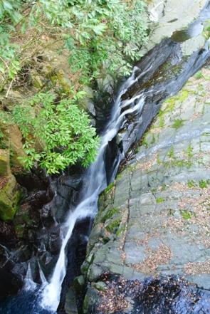 菊池渓谷再訪13掛幕の滝