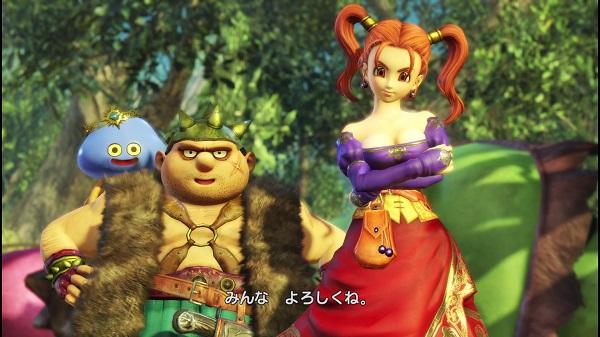 PS4 PS3 DRAGONQUESTHEROES ドラゴンクエストヒーローズ プレイ日記 ホロミン ヤンガス ゼシカ フローラ ビアンカ
