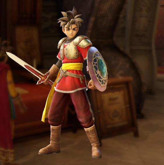 PS4 PS3 DRAGONQUEST HEROES ドラゴンクエストヒーローズ プレイ日記 マーニャ アレンジ衣装 光の番人