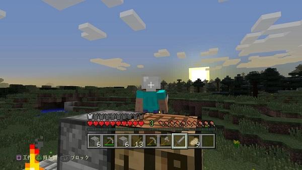 PS4 マインクラフト Minecraft プレイ日記 旅の途中