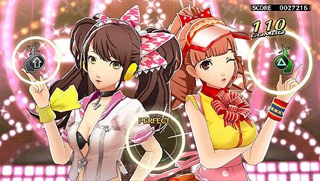 ペルソナ4 ダンシング・オールナイト P4D 主題歌 「dance!」