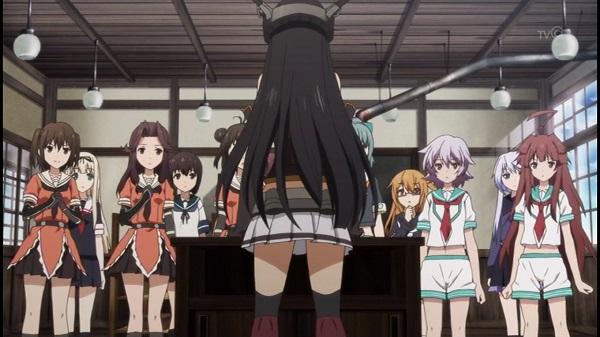 ゲームアニメ 艦これ 艦隊これくしょん 吹雪 3話 感想