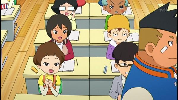 ゲームアニメ 妖怪ウォッチ バレンタイン バレンタイン新時代 義理チョコ 友チョコ フミちゃん