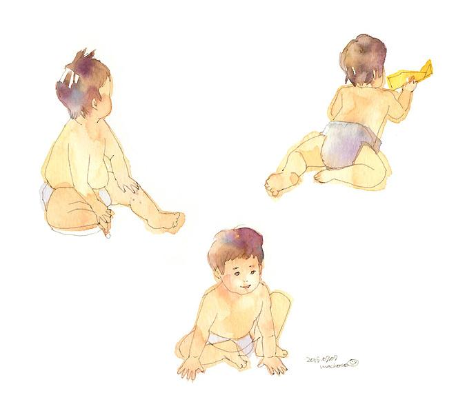 赤ちゃん 男の子 ズリバイ