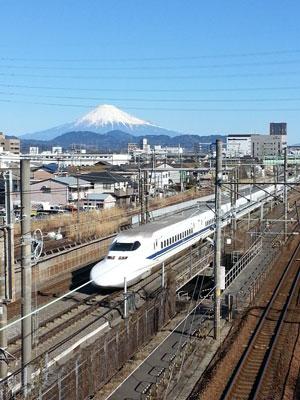 1501富士山と新幹線