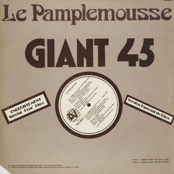 DG_LE PAMPLEMOUSSE_GIMMIE WHAT YOU GOT_201501