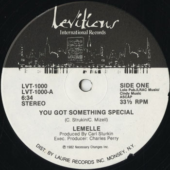 DG_LEMELLE_YOU GOT SOMETHING SPECIAL_201501