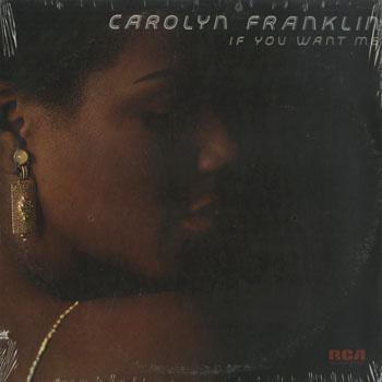 SL_CAROLYN FRANKLIN_IF YOU WANT ME_201501