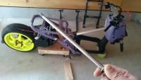 ズーマ エンジンの吊りシャフト3