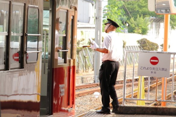 2015/8/9 阪神武庫川線 武庫川団地前