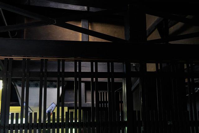 伯耆町の矢田貝家住宅 有形文化財 写真展