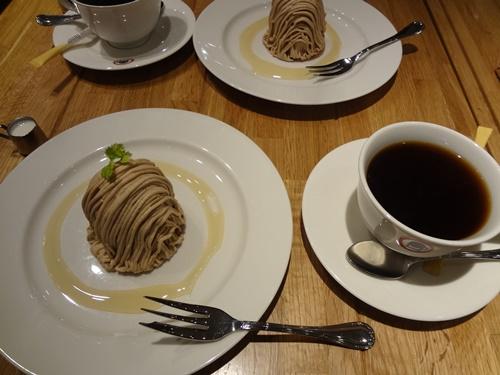モンブランコーヒー