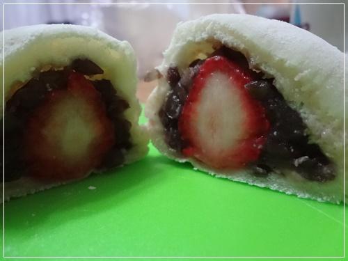 苺大福パン