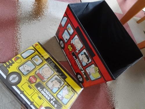スヌーピー収納BOX