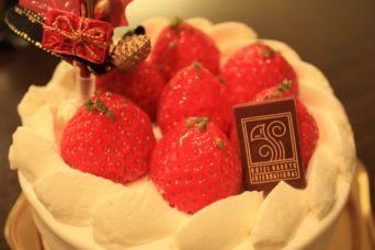 メリクリ忘年会2014ケーキ